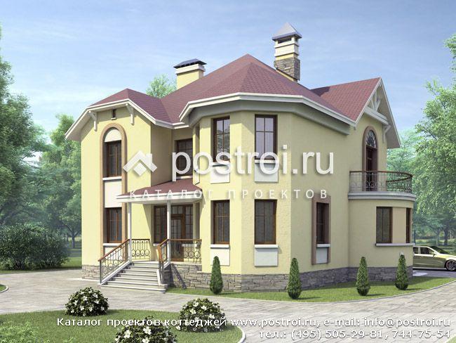 Дом из монолита U-524-1M - проекты домов от компании DD