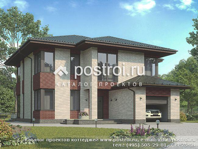 Проекты коттеджей, частных домов, гаражей, бань